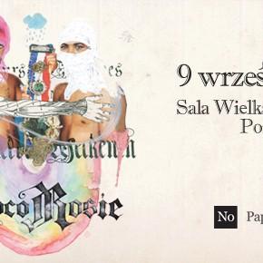 CocoRosie na koncercie w Sali Wielkiej CK Zamek w Poznaniu.